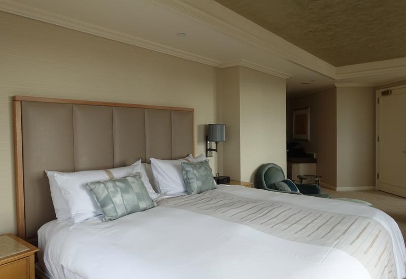 Loews Regency San Francisco Hotel Review: King Bed
