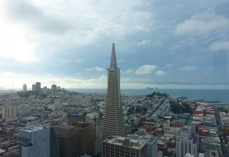 Transamerica Pyramid View, Loews Regency San Francisco Hotel Review