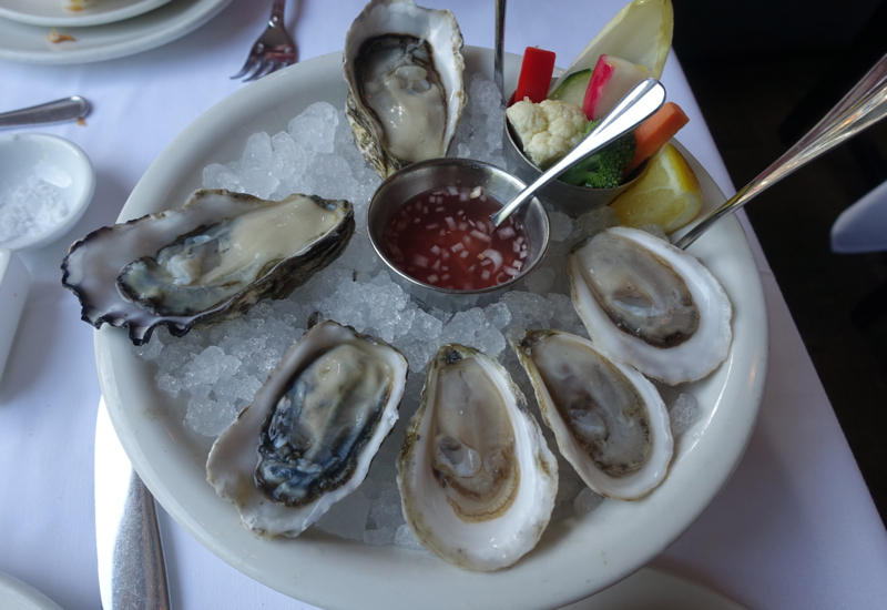 Happy Hour Oysters, The Clam NYC Review
