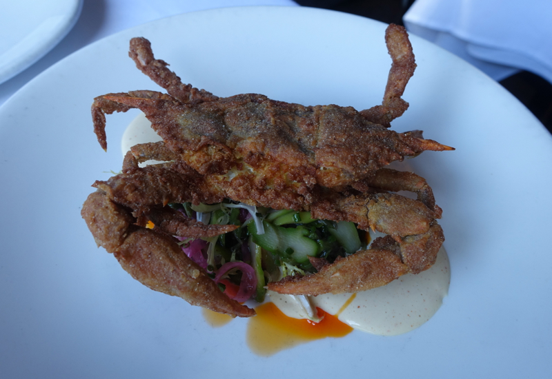 Soft-Shell Crab Special, The Clam NYC Review