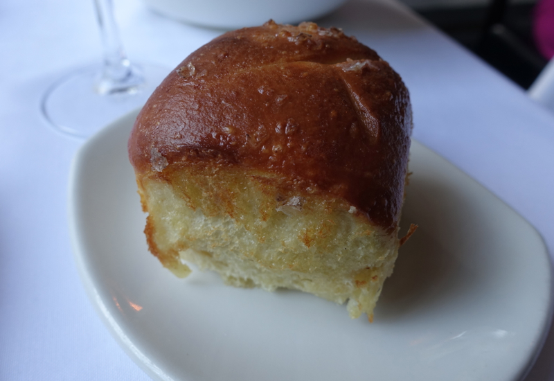 Warm Parker House Roll, The Clam NYC Review