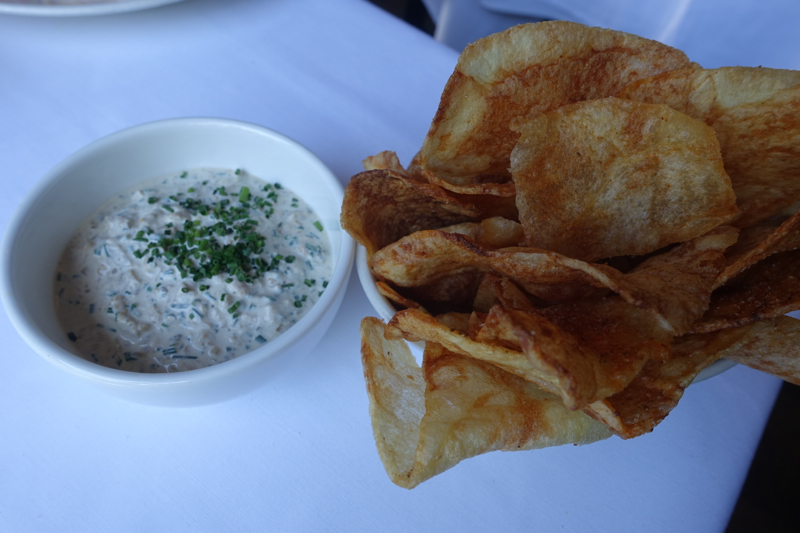 The Clam Dip and Potato Chips, The Clam NYC Review