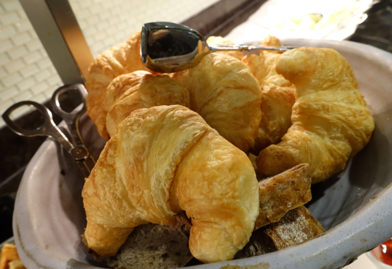 Croissants and Pastries, AMEX Centurion Lounge San Francisco Review