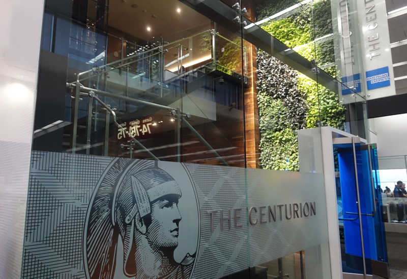 Review: AMEX Centurion Lounge San Francisco Entrance