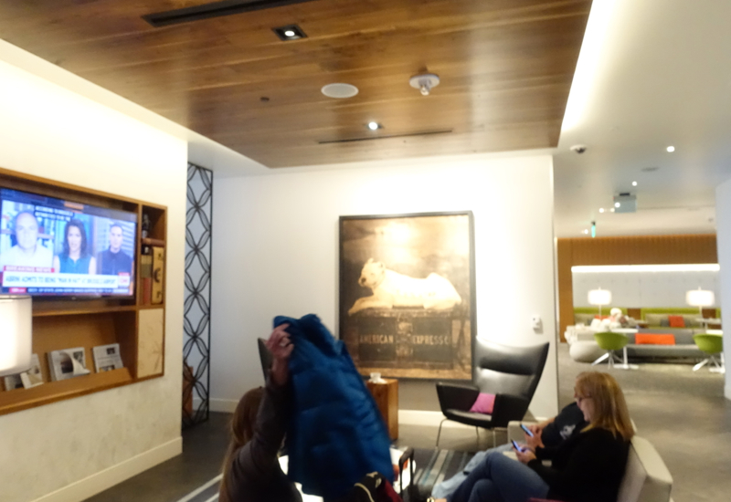 Review: AMEX Centurion Lounge San Francisco Airport SFO