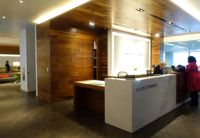 Review: AMEX Centurion Lounge San Francisco-Reception