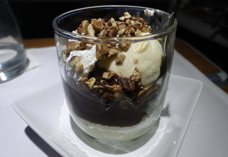 Hot Fudge Sundae, American A321 First Class Review