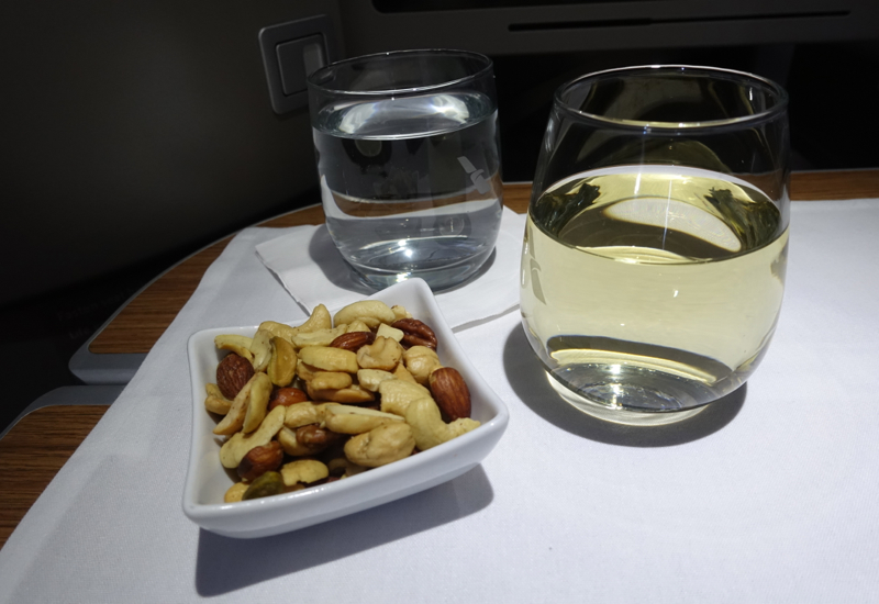 Mixed Nuts and Sauvignon Blanc, American A321 First Class Review