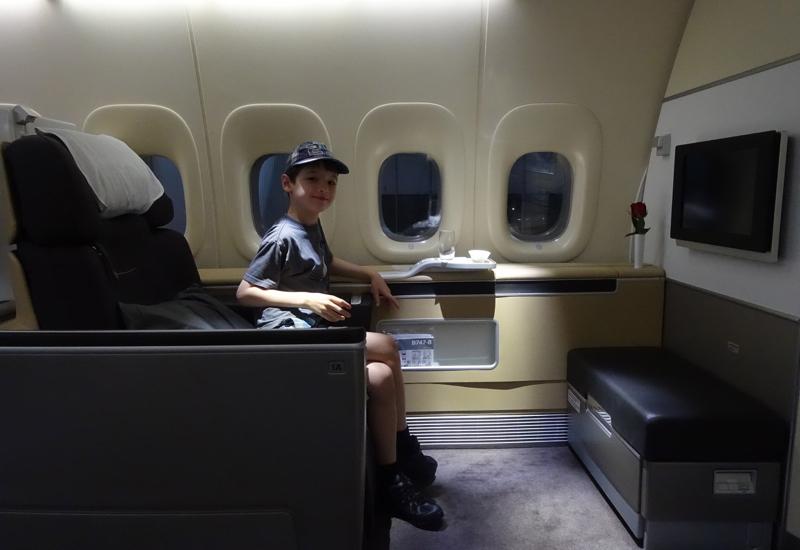 Enjoying Seat 1A, Lufthansa First Class Review 747-8