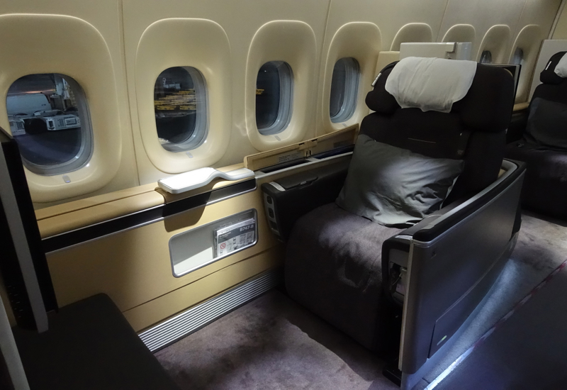 Review-Lufthansa First Class Seat 1K, 747-8