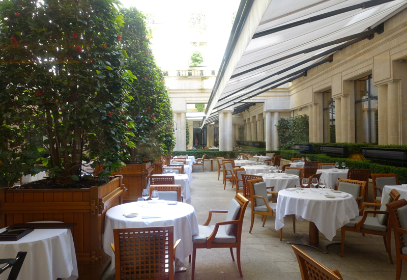 La Terrasse, Park Hyatt Paris-Vendome Review