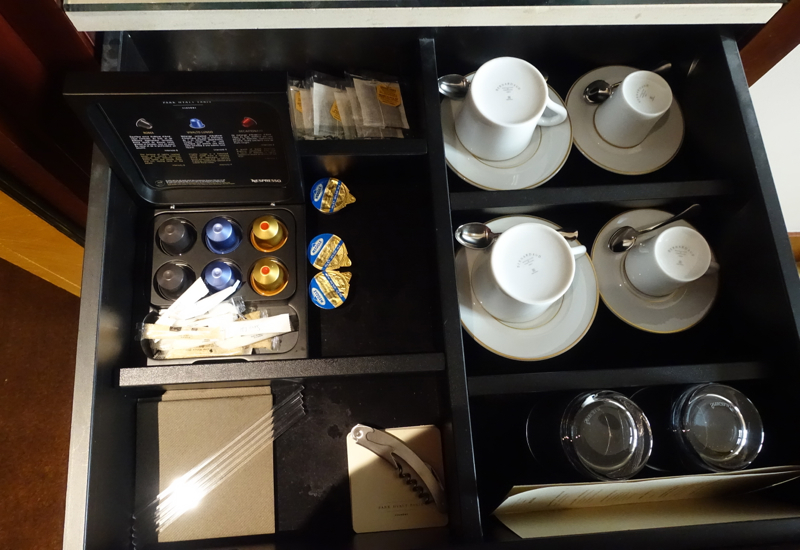 Nespresso Capsules and Mariage Freres Tea, Park Hyatt Paris Review