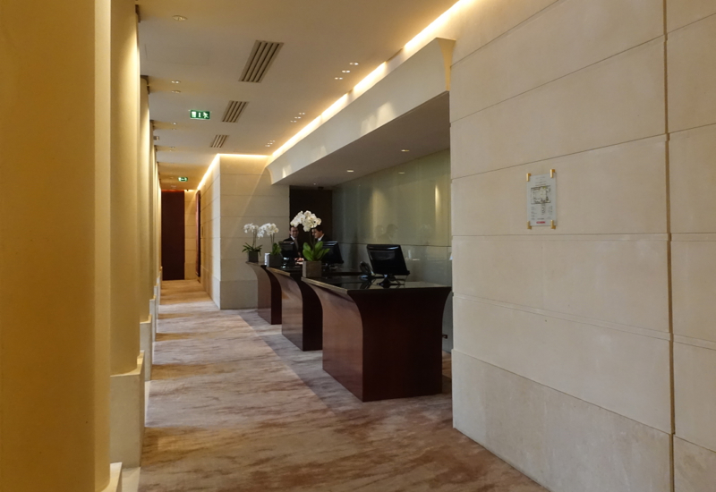 Review-Park Hyatt Paris Vendome Front Desk Reception