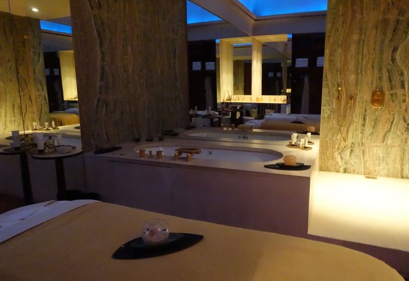 Park Hyatt Paris-Vendome Review-Couple's Spa Treatment Room