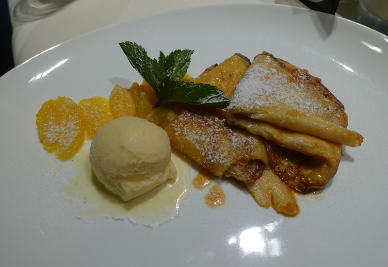 Crepes Suzette, Lufthansa First Class Terminal Review