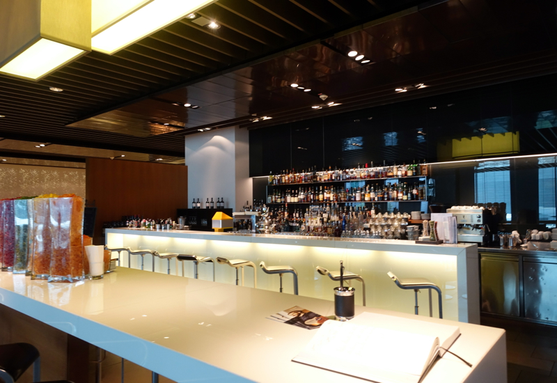 Bar, Lufthansa First Class Terminal Review