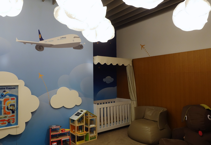 Kids' Play Space, Lufthansa First Class Terminal Review