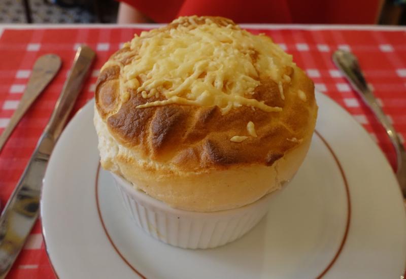 Cheese Souffle, La Cuisine de Philippe Paris Review