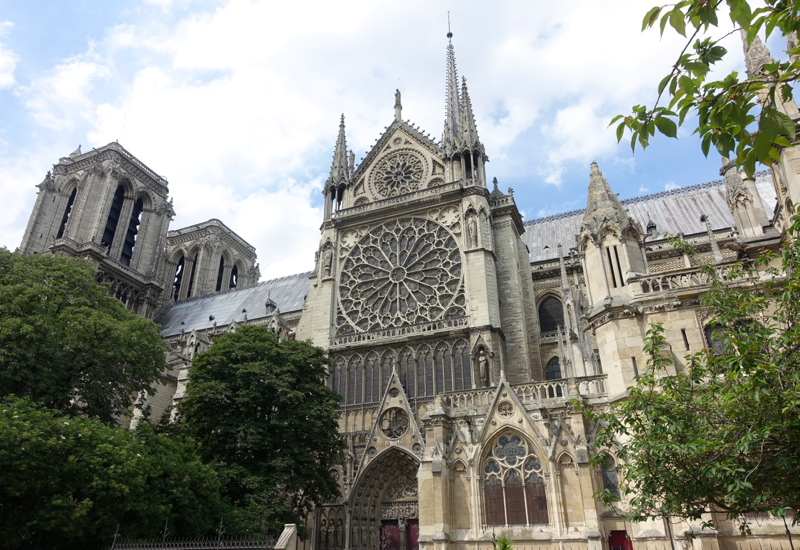 Notre Dame Southern Facade, Paris Muse Private Walking Tour