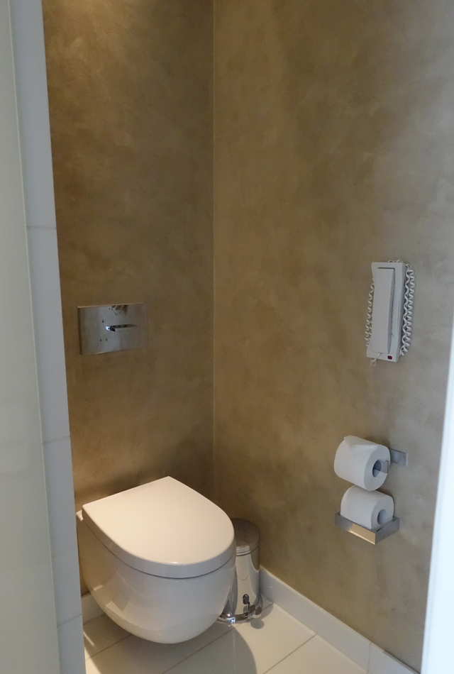 Toilet Chamber, Mandarin Oriental Paris Hotel Review