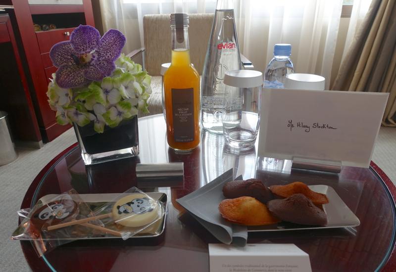 Welcome Amenities, Mandarin Oriental Paris Hotel Review