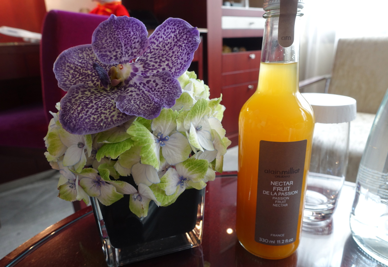 Alain Milliat Passion Fruit Nectar, Mandarin Oriental Paris Review