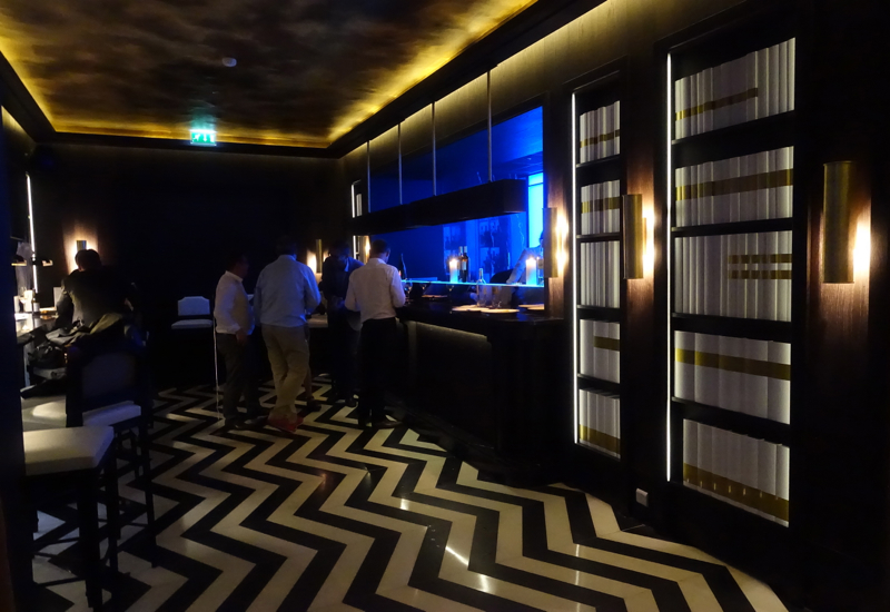 Mathieu Pacaud Hexagone Bar, Paris