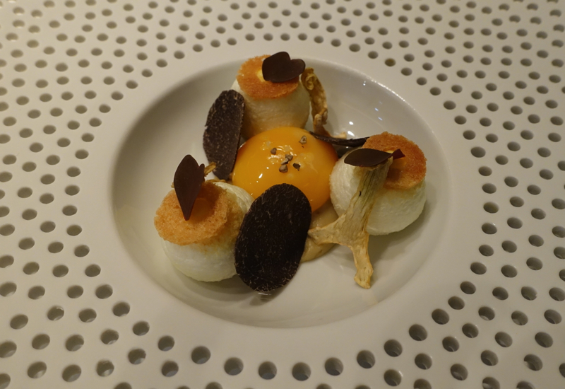 Blanc Manger with Black Truffles, Mathieu Pacaud Histoires Review