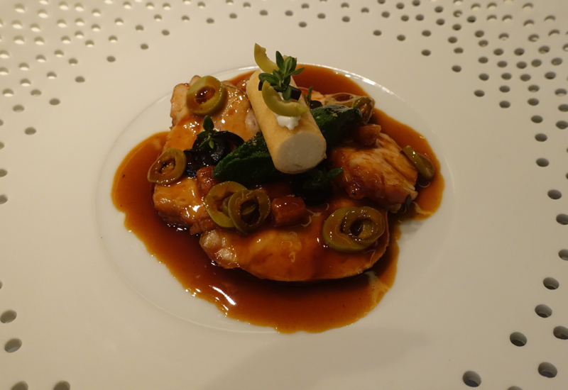 Sweetbreads with Madeira Reduction, Mathieu Pacaud Histoires Review