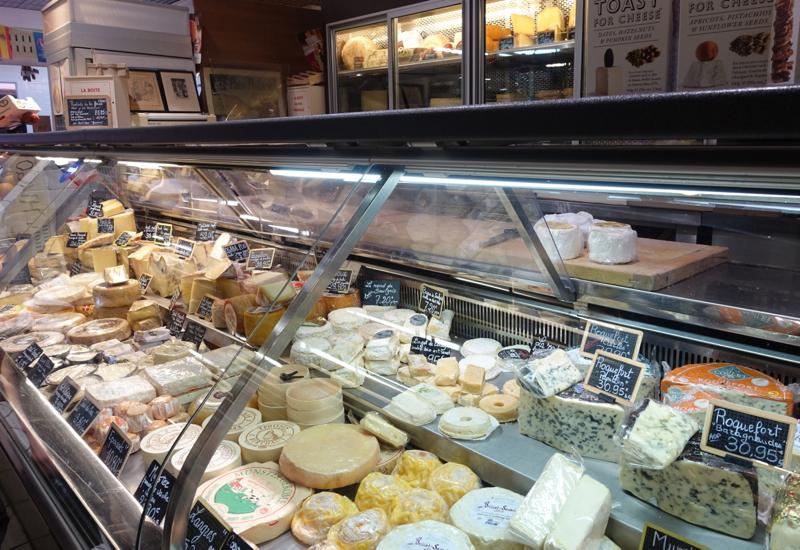 Cheeses, Marche Saint Germain, Hidden Paris Gourmet Tour Review