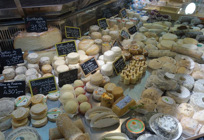 Cheeses, Marche Saint German, Hidden Paris Gourmet Tour Review