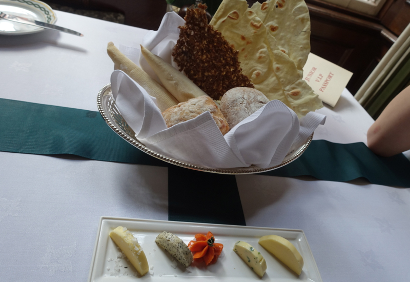 Bread Basket and 5 Types of Butter, Cheneston's Restaurant Review