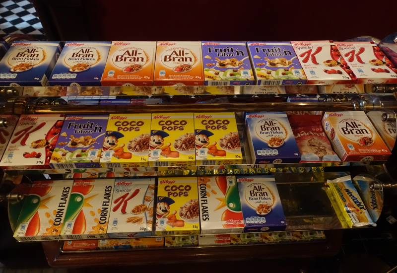 Boxed Cereals, Milestone Hotel Breakfast Review