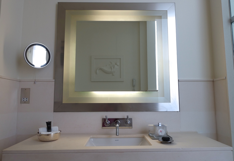 Executive Bathroom Vanity and Sink, Brown's Hotel London Review