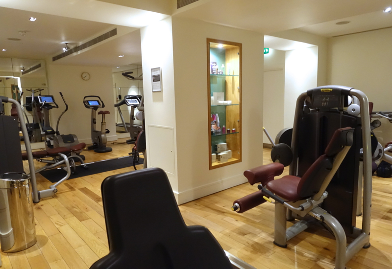 Gym, Brown's Hotel London Review