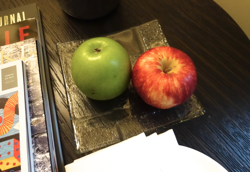 Apples, Brown's Hotel London Review