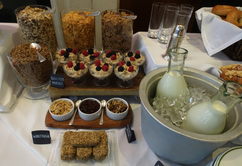 Breakfast Cereals, HIX Mayfair, Brown's Hotel London Review