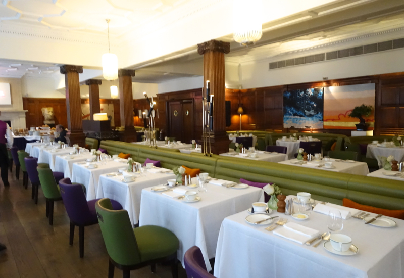 HIX Mayfair Restaurant, Brown's Hotel London Review