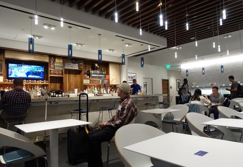Bar, AMEX Centurion Lounge Houston Review