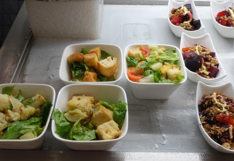 Salads, AMEX Centurion Lounge Houston Review