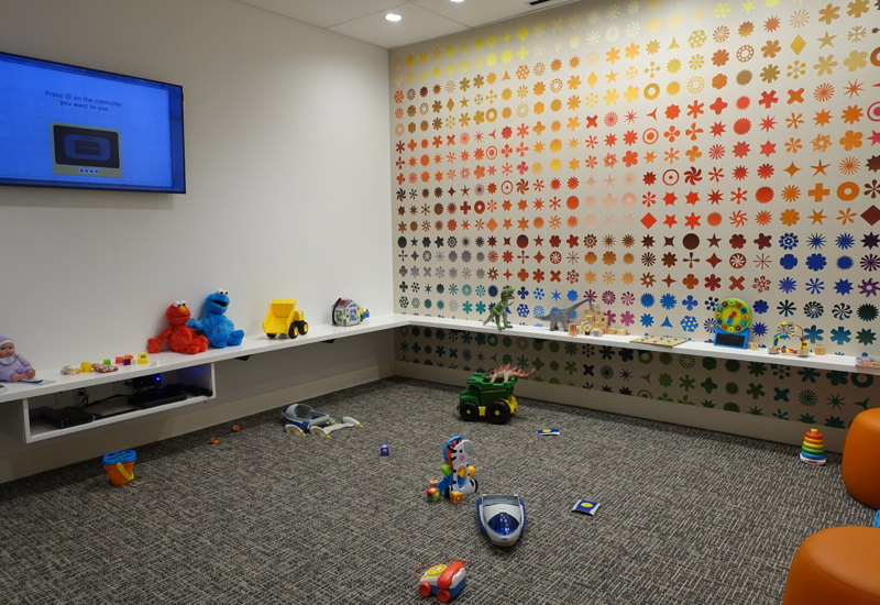 Family Room / Kids' Play Room, AMEX Centurion Lounge Houston Review