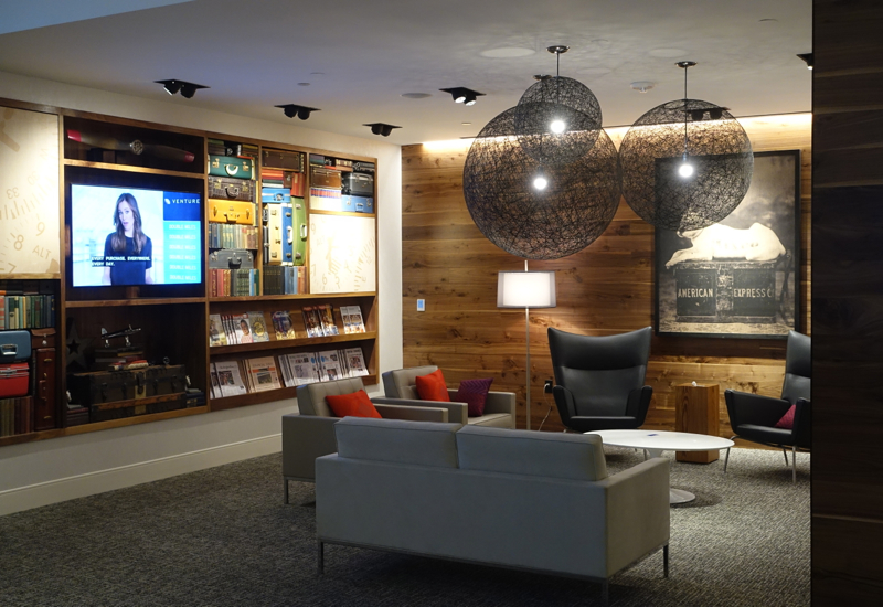 Review: AMEX Centurion Lounge Houston IAH