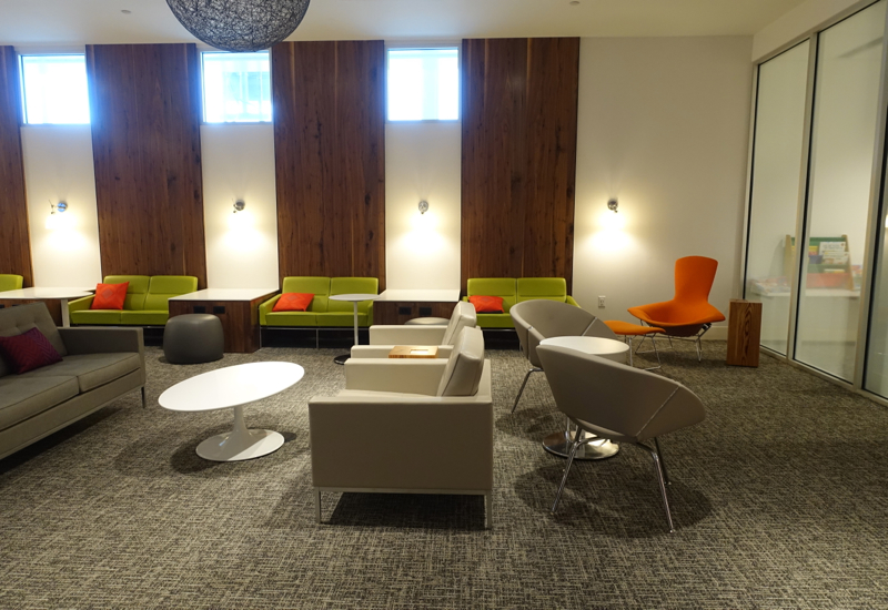 Seating, AMEX Centurion Lounge Houston IAH Review