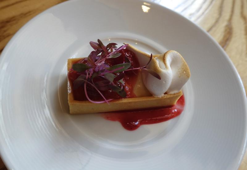 Rhubarb Jasmine Tartlette, Nobu New York Restaurant Week Review