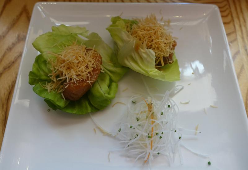 Black Cod Miso in Lettuce, Nobu New York Review