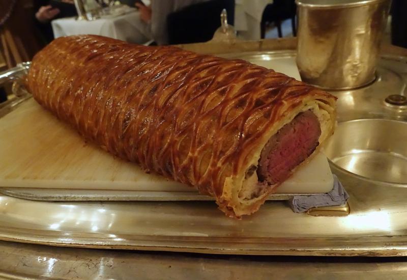 Beef Wellington, Wiltons London Review