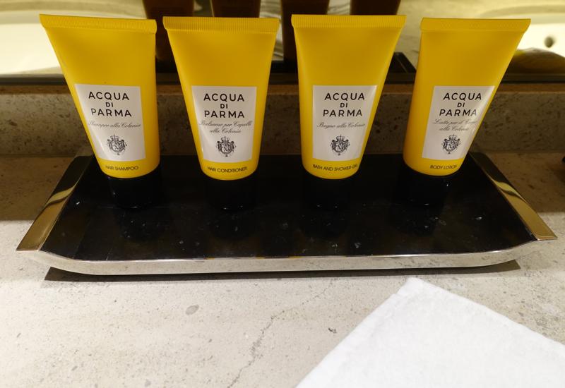 Acqua di Parma Bath Products, Shangri-La at The Shard London Review