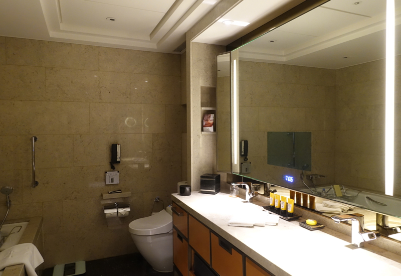 Deluxe City View Bathroom, Shangri-La at The Shard London Review