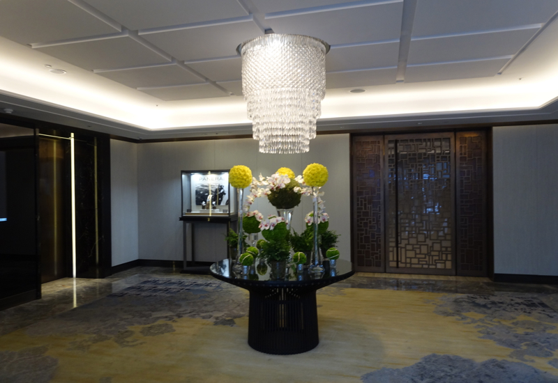 Ground Floor Elevator Lobby, Shangri-La at The Shard
