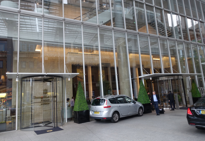 Entrance, Shangri-La at The Shard London Review